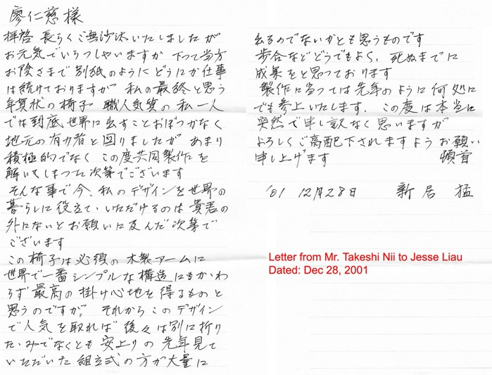 letter from Nii to Jesse Dec 28, 2001